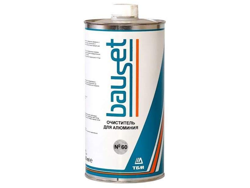 Очиститель для алюминия Bauset №60, WG-60, 1л. (Очиститель для алюм.поверх. Cosmofen №60 1л.)