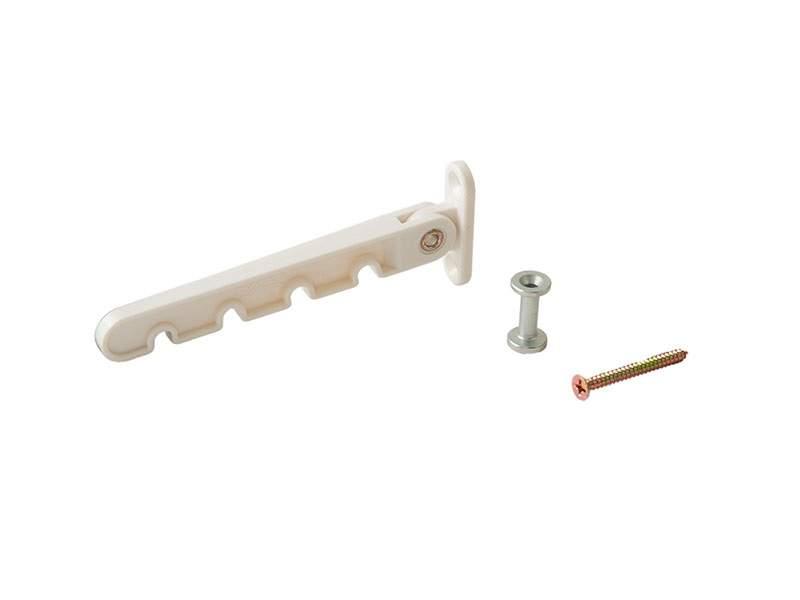 Ограничитель открывания (шуруп) белый, Roto. M812B20
