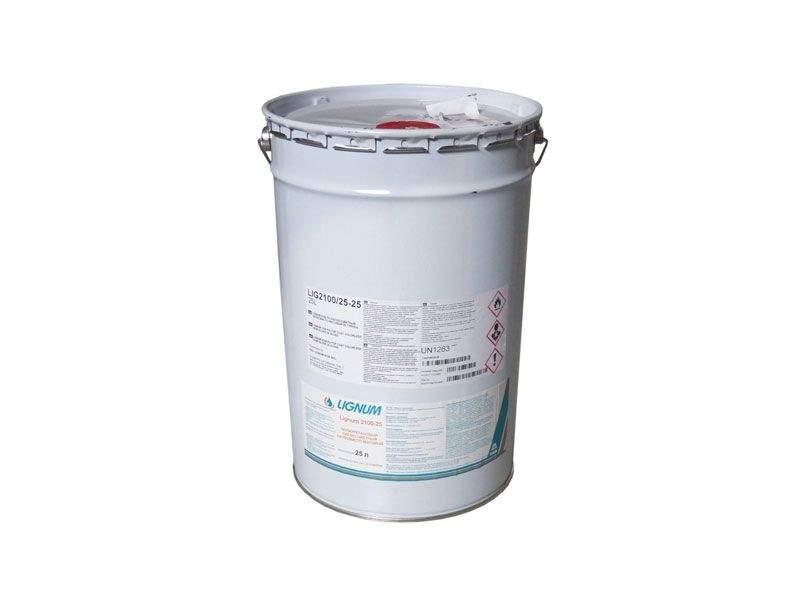 Лак полиуретановый LIGNUM 2100-25 бесцветный, полуматовый, 25л. LIG2100/25-25