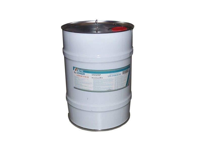 Лак полиуретановый LIGNUM 2108-30 бесцветный, полуматовый, 25л. LIG2108/25-30