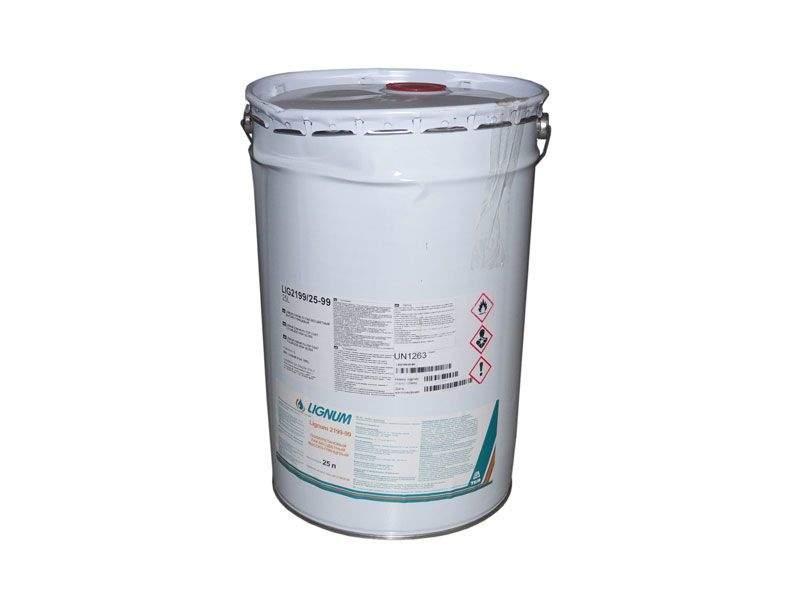 Лак полиуретановый LIGNUM 2199-99 бесцветный высоко-глянцевый 25л. LIG2199/25-99