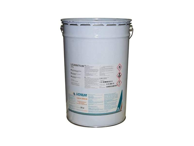 Лак полиуретановый LIGNUM 2699-99 белый высоко-глянцевый 25кг. LIG2699/75-99