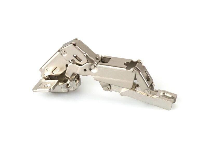 Петля Firmax для накладных дверей Slide-on, угол открывания 165°, 48 мм, шуруп, сталь. FRM0018