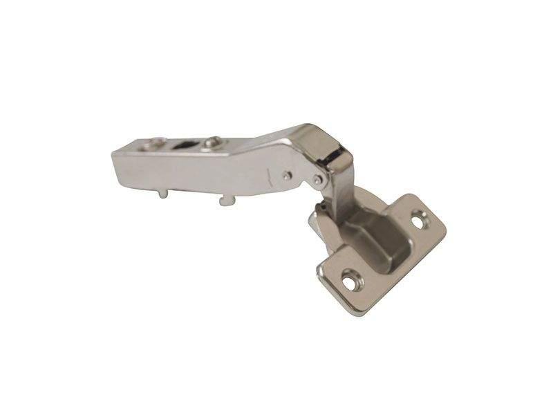Петля Firmax для угловых дверей, 45° Clip-on без доводчика, угол открывания 95°, 45мм, шуруп. FRM0084.45