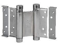 Петля барная 100 мм. для деревянных дверей до 34 кг., хромированная сталь. ALD0001.14