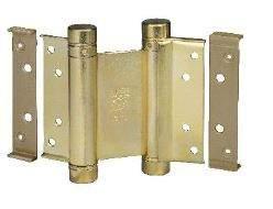 Петля барная 100 мм. для деревянных дверей до 34 кг., латунь. ALD0001.20