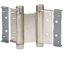 Петля барная 100 мм. для деревянных дверей до 34 кг., никель. ALD0001.67