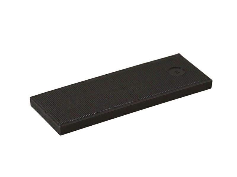 Пластина рихтовочная Bistrong 100x24x6 черная (от.)