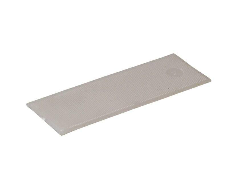 Пластина рихтовочная Bistrong 100x30x1 белая (от.)