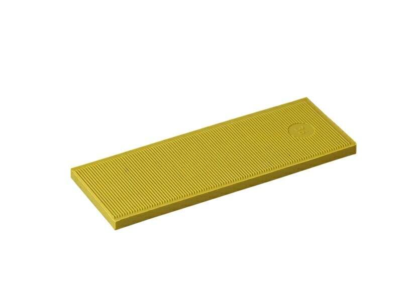 Пластина рихтовочная Bistrong 100x30x4 желтая (от.)
