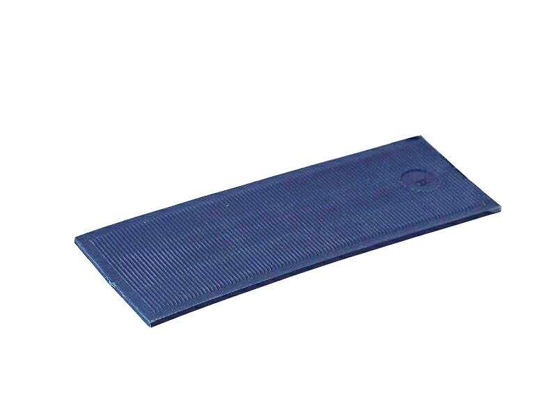 Пластина рихтовочная Bistrong 100x34x2 синяя (от.)