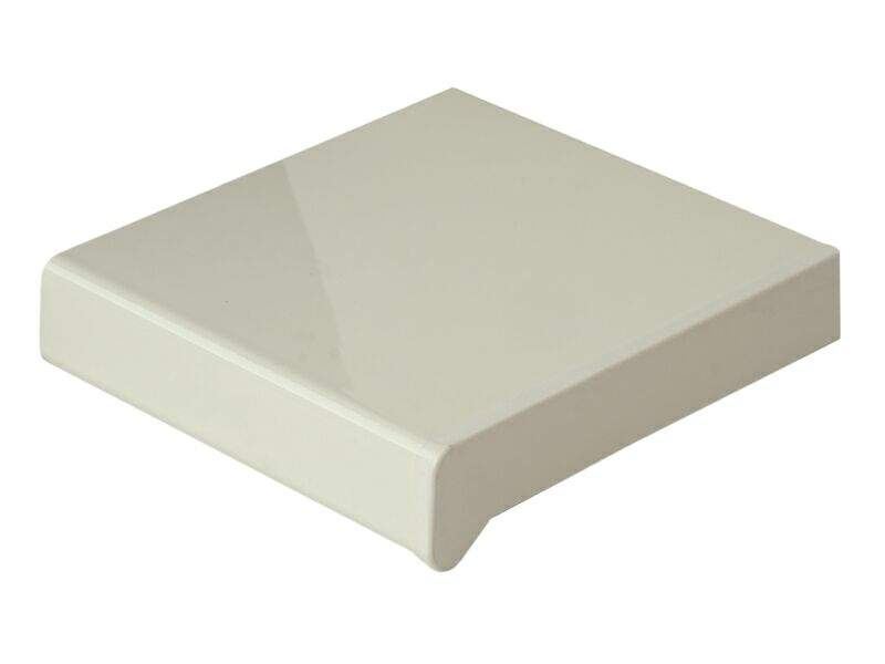 Подоконник пластиковый Moeller 250мм, белый глянцевый 6м