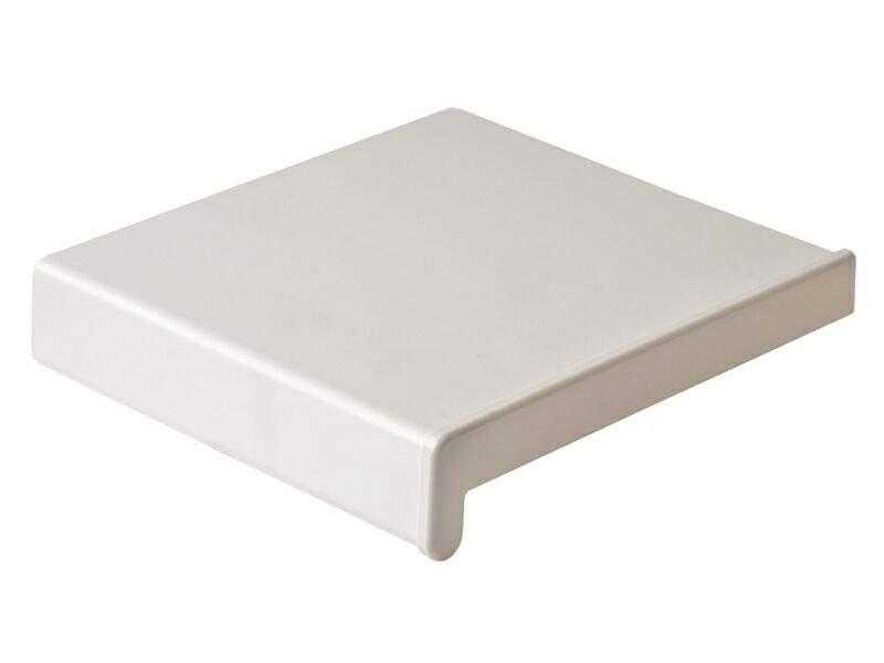 Подоконник пластиковый В-40 /800/ белый /6,0м/