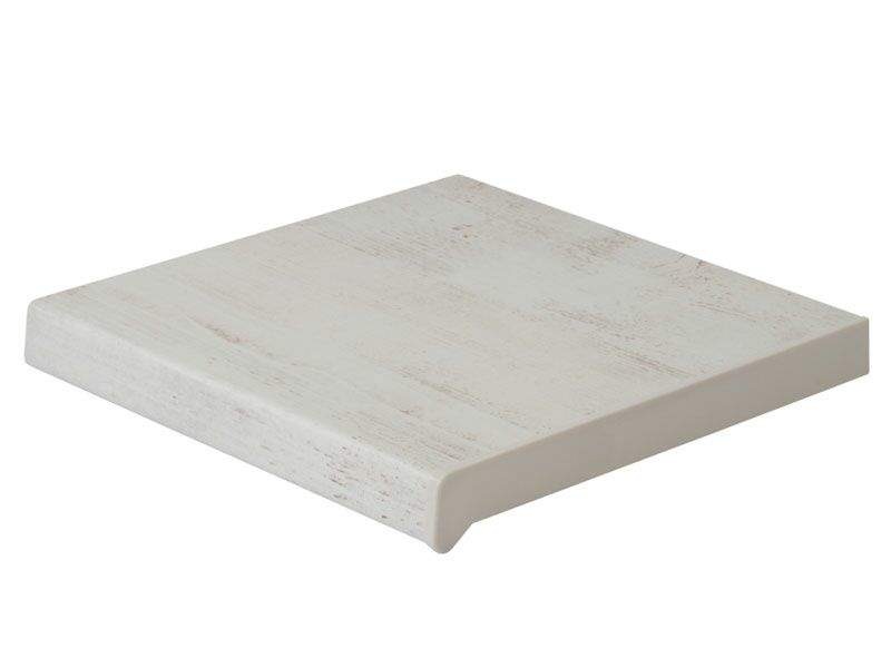 Подоконник пластиковый Moeller 250мм, белый ручей матовый. MOL0045.49/6