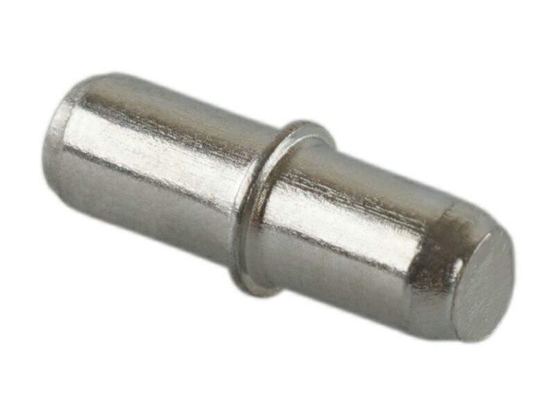 Полкодержатель FIRMAX, D=5/6 мм, L=16 мм, сталь, цинк. FRM0686