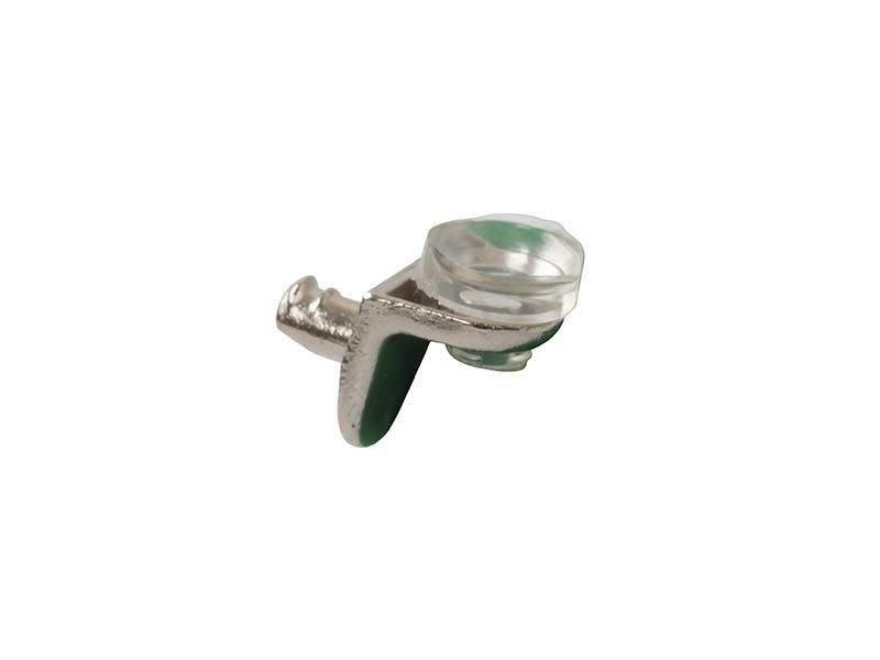 Полкодержатель Г-образный для стекла с присоской FIRMAX, цинк, никель пластик. FRM0658