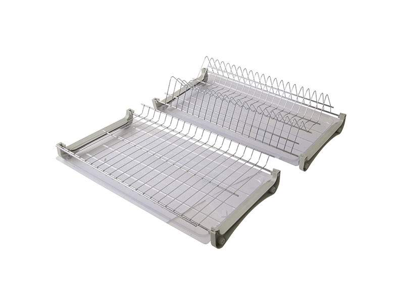 Комплект сушек для посуды FIRMAX база 500, ширина 465мм, без рамы (сушка для тарелок, сушка для чашек, поддон, саморезы). FRM5088.050