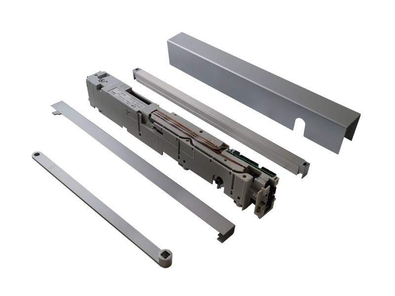 Привод PORTEO 230 В (привод + скользящий канал + крышка), серебро, 60010001. DOR2103