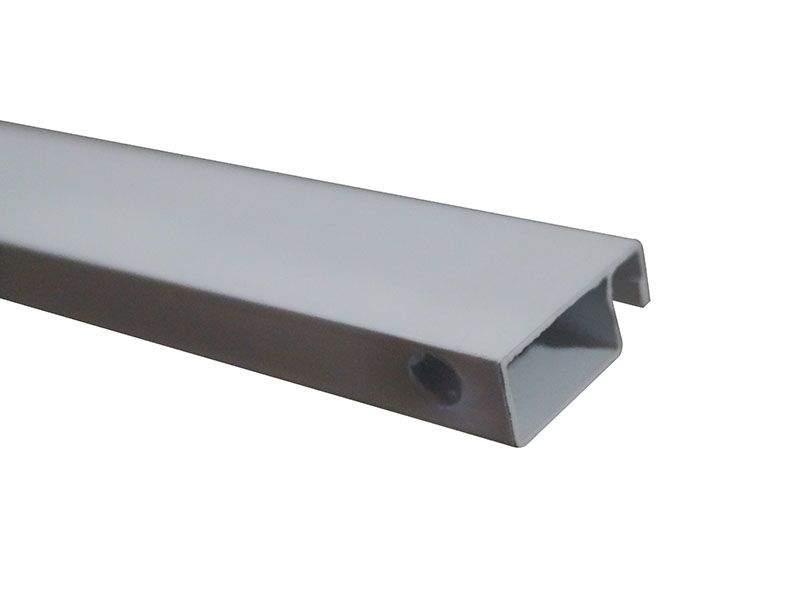 Профиль BAUSET МС-БАЗА 10х25 основной белый (6,0м)