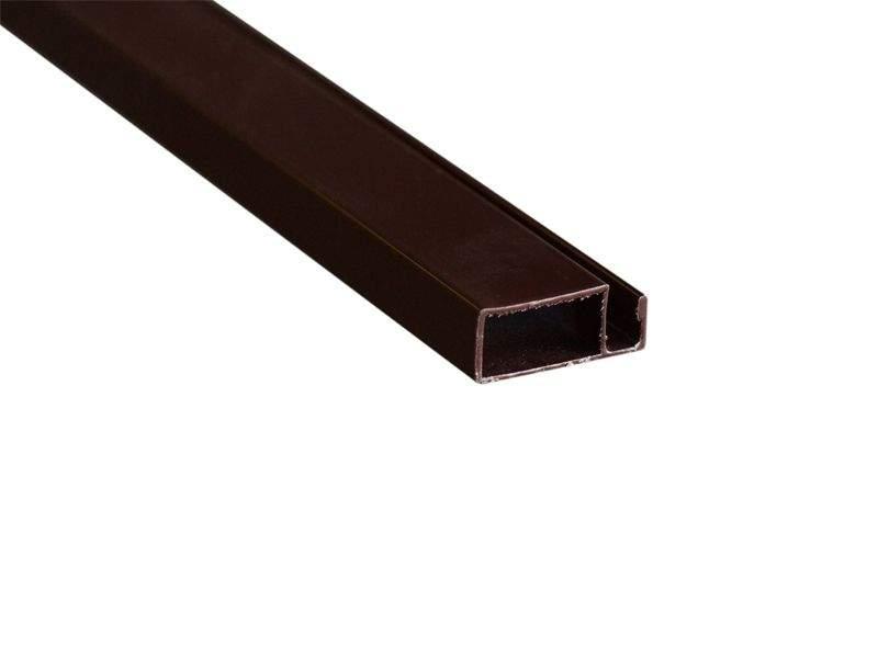 Профиль BAUSET МС-БАЗА 10х25 основной коричневый (6,0м)