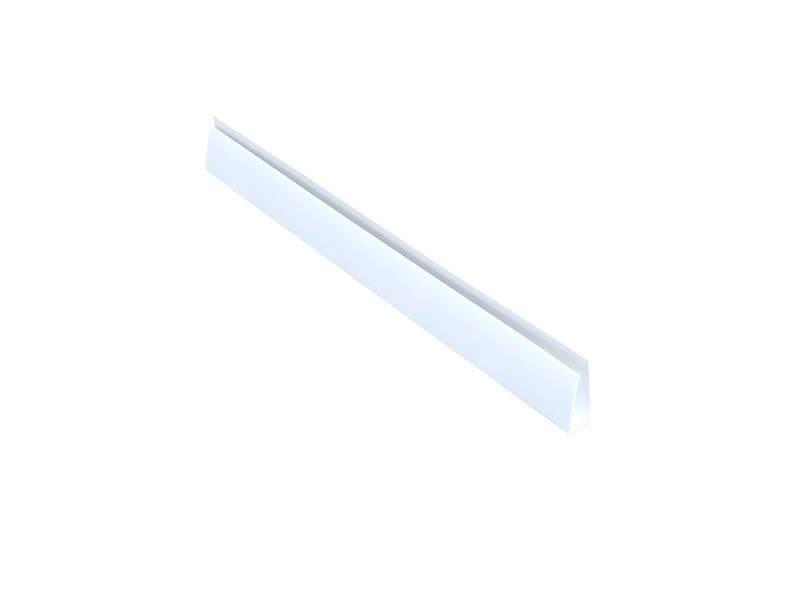 Профиль (L) начальный Bauset TPL 27х20мм белый 6,0 м. TPL5804.07