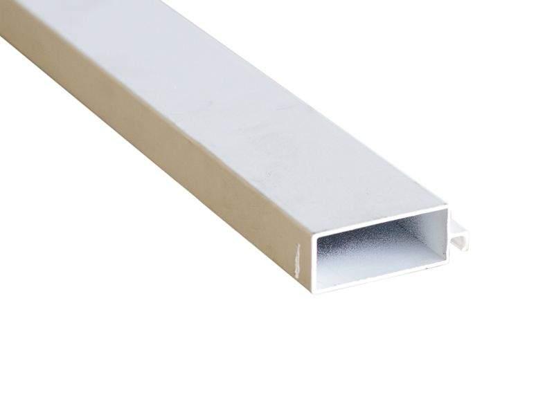 Профиль рамный МС (52×20мм) белый 5,8м