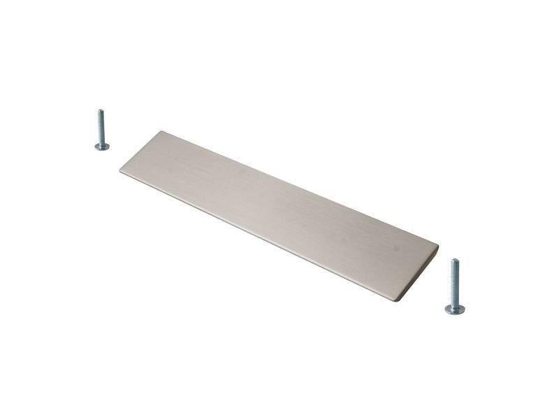Профиль-ручка 160мм, шлифованный никель. COS0015.50.160