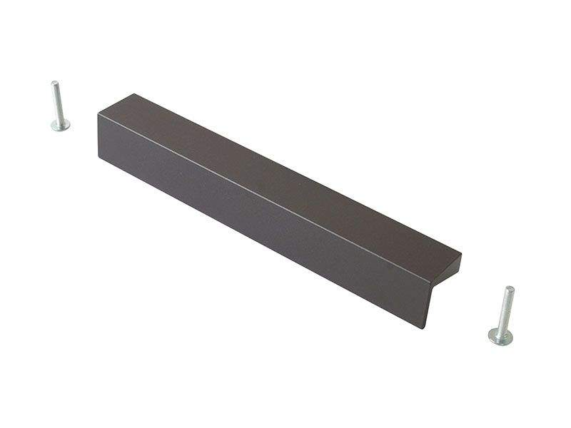 Профиль-ручка 160мм, титан. COS0001.40.160
