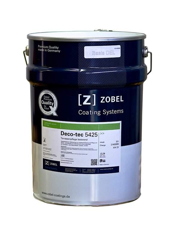Лак для террас Deco-tec 5425 бесцветный, шелковисто-матовый 20 л. ZWD5425/20