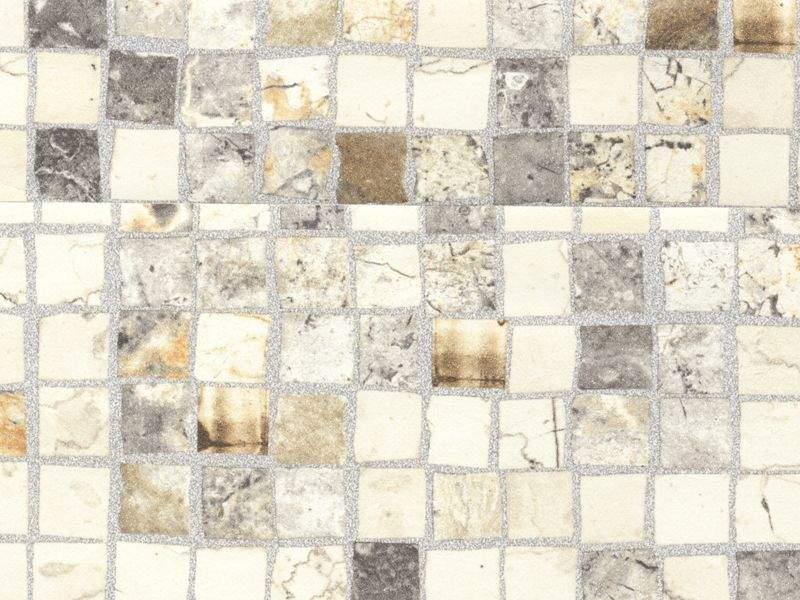 Бортик пристеночный овальный ALPHALUX мозаика крем, 45*25 мм, L=4000 мм. ALF0205/35