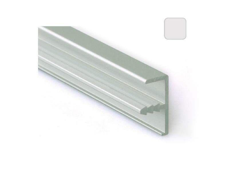 Профиль 21/9 серебро, 5800 мм окантовочный. FRM2860.02/11