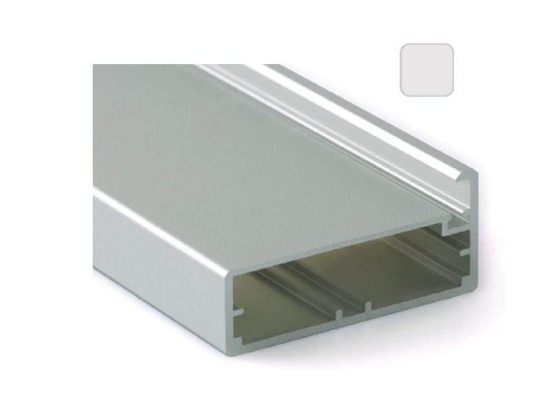 Профиль 45/4 серебро, 5800 мм для рамочных фасадов. FRM2830.02/11