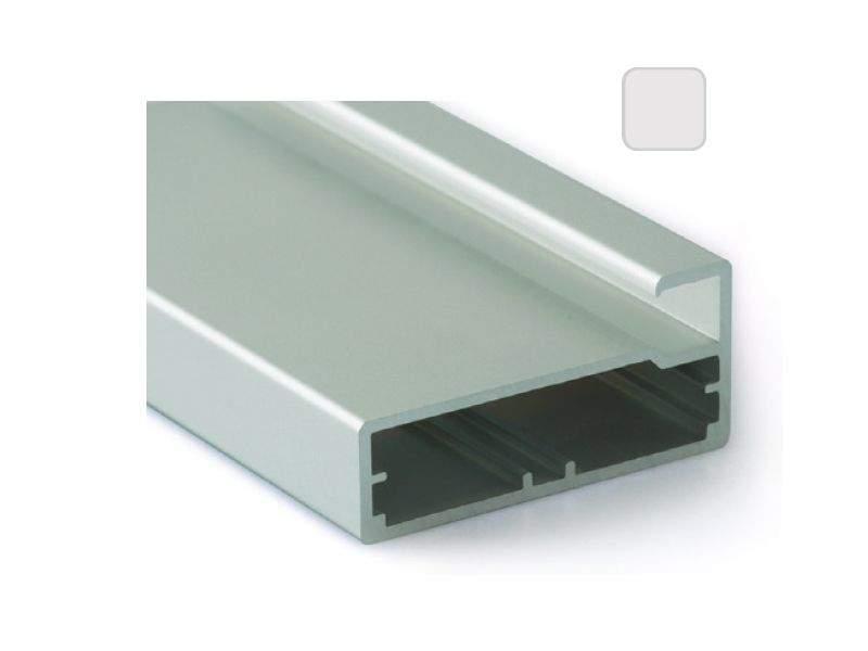 Профиль 45/9 серебро, 5800 мм для рамочных фасадов. FRM2820.02/11
