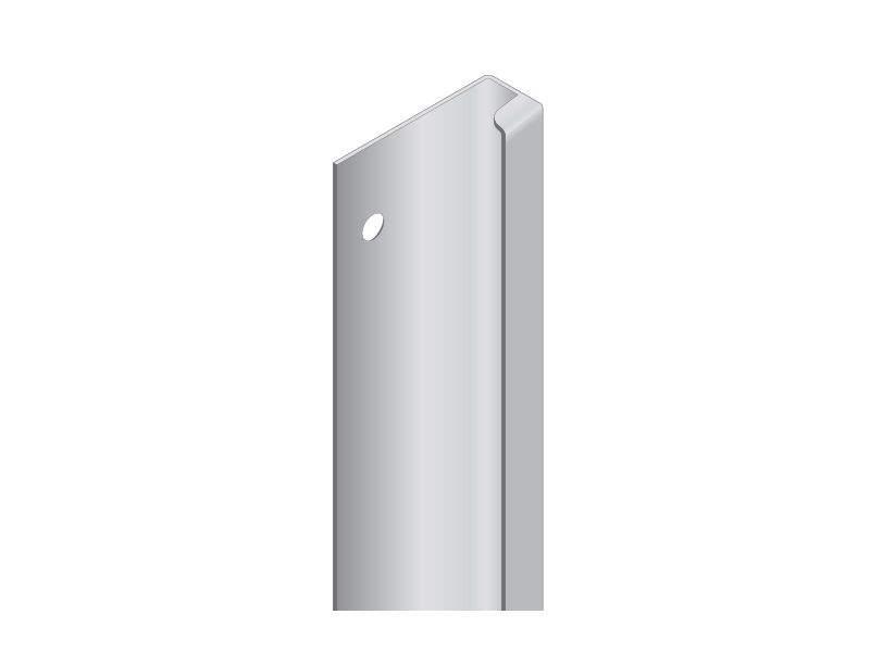 Профиль GOLA Alphalux (компенсатор) для духовых шкафов, L=580мм., алюминий. ALF0410