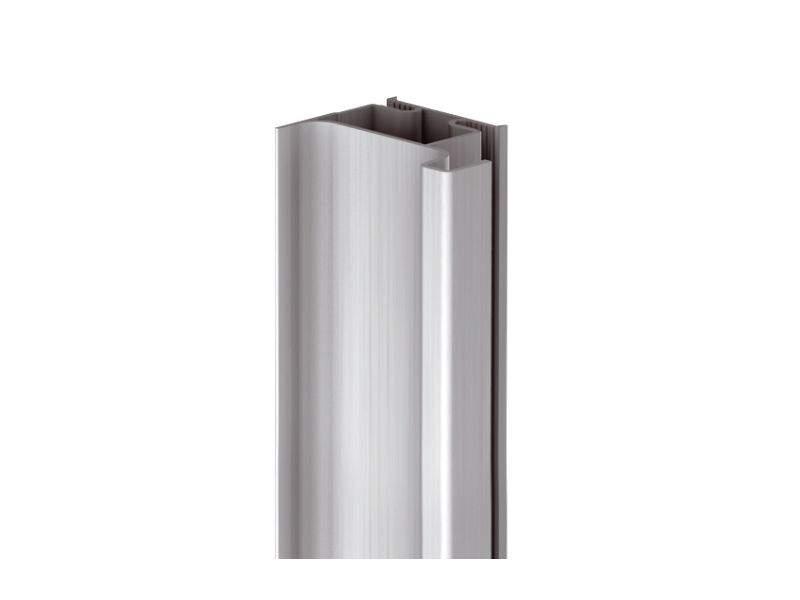 Профиль GOLA Alphalux вертикальный боковой(для шкафов из ДСП=16мм) L=4.5м., алюминий. ALF0402