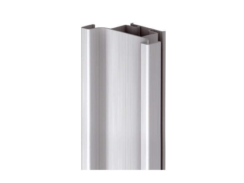 Профиль GOLA Alphalux вертикальный средний(для шкафов из ДСП=16мм) L=4.5м., алюминий. ALF0403