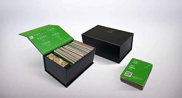 Комплект образцов декоров пластика VEROY. VER0060