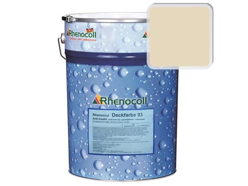Краска фасадная Rhenocryl Deckfarbe 93A RAL 1015 шелковисто-глянцевая, 1л. RHF0007/01