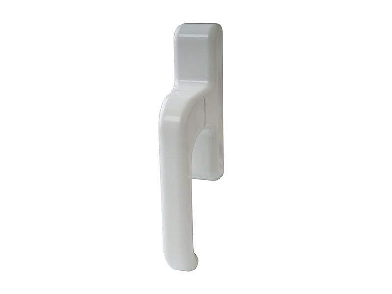 Ручка оконная с блокиратором Giesse EURO E-line, белая. GIE1090.07
