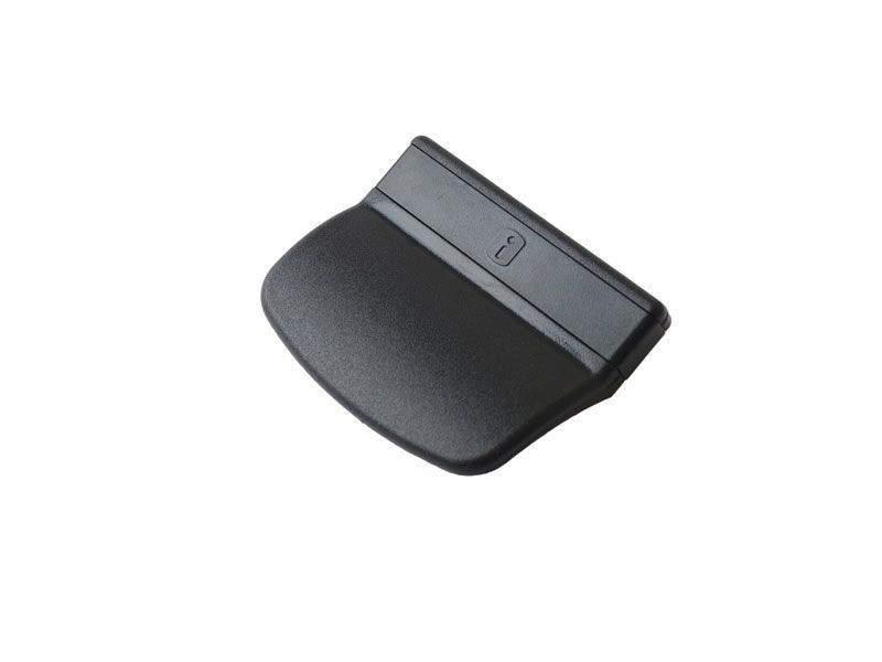 Ручка балконная Internika, черная. INT0050.06
