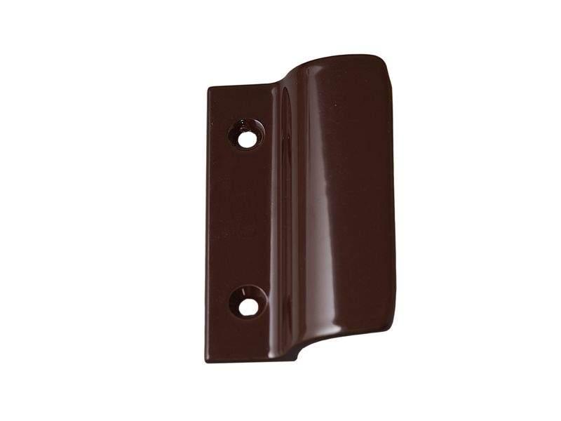 Ручка балконная Internika, металлическая, коричневая. INT0051.05