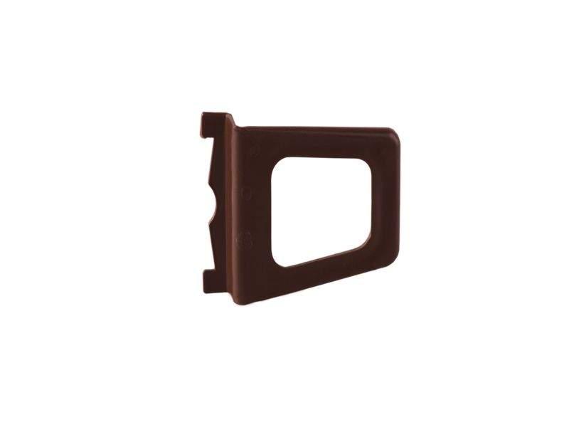 Ручка для МС-БАЗА коричневая (трапеция)