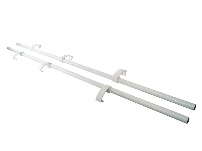 Ручка дверная прямая Elementis 1800мм с 3 креплением, белый. IPL0052.07