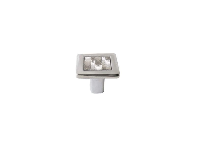 Ручка кнопка со вставкой Mico 6064, голограмма. MIC6064/06.35