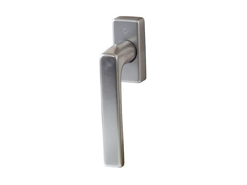 Ручка оконная Hoppe Dallas Secustic, 42-52 мм, титан, алюминиевая, без винтов. HOP3637.54