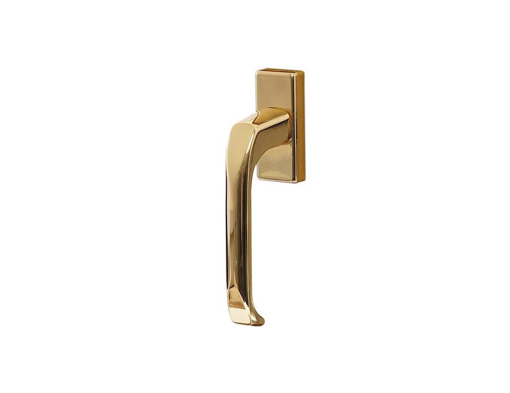 Ручка оконная Internika золотистый глянцевый 35 мм