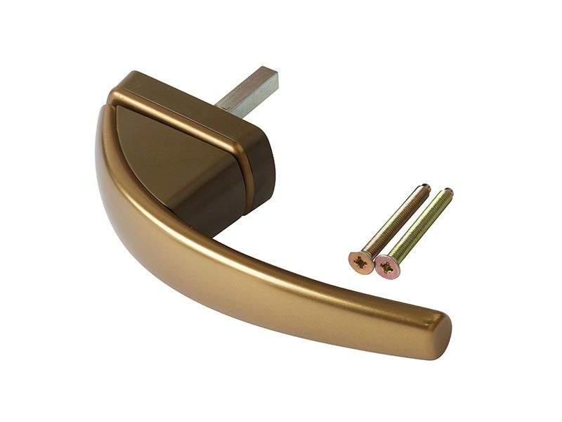 Ручка оконная ROTO SWING бронза шт.37 R05.5 +2 винта 5х45