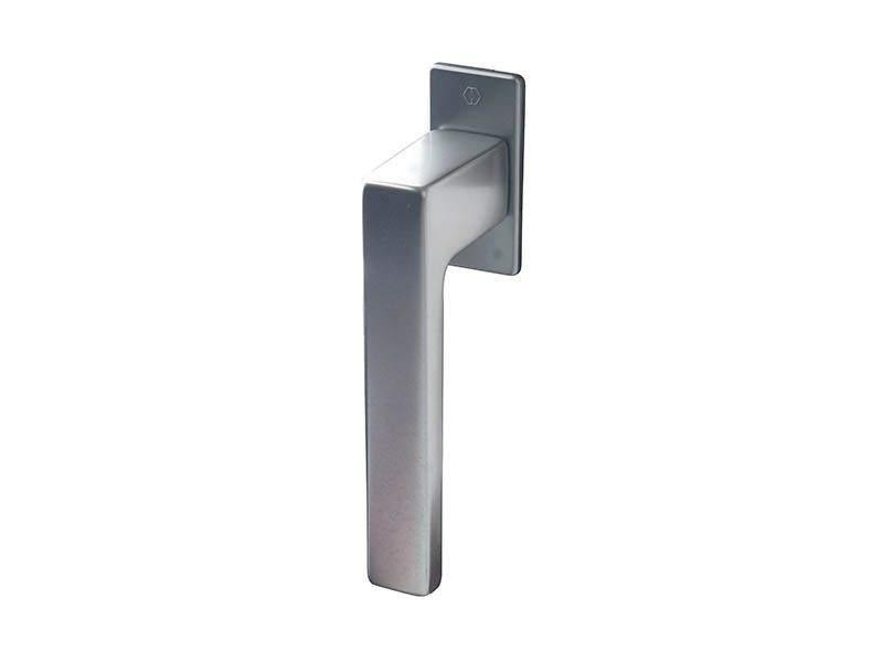 Ручка оконная Hoppe Austin, 37 мм, титан, алюминиевая, 2 винта. HOP8001.54