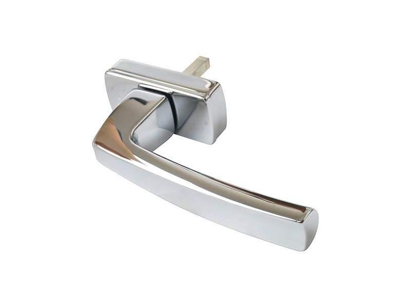 Ручка оконная Hoppe Acapulco Secustik, 35 мм, хром матовый, латунная, 2 винта. HOP6001.14