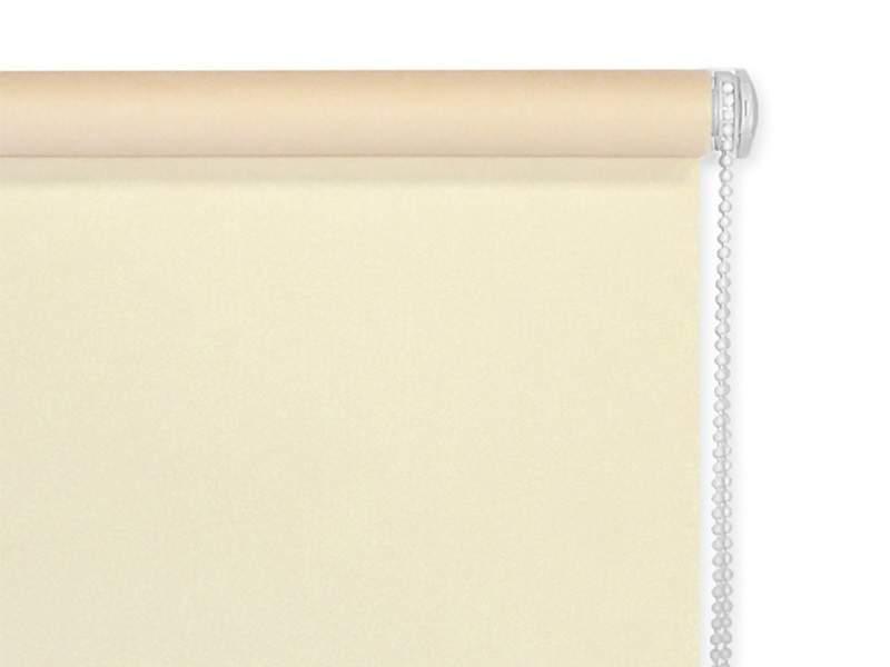 Рулонные шторы однотонные, 52х170 см. Бежевый лен. ESK30409052170